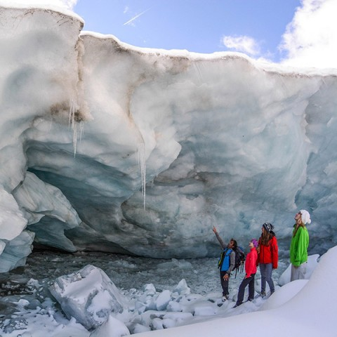 Gletscherwanderung am Pitztaler Gletscher (c) Peter Ehler