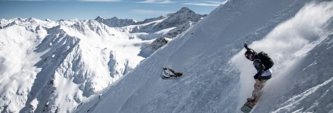 Pitztal Wild Face - Freeride Extreme on the Pitztal Glacier
