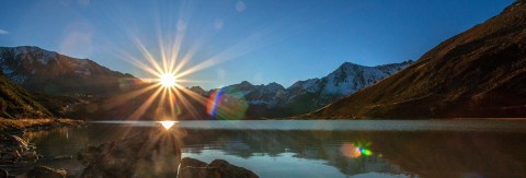 Sommersonnenwende am Rifflsee