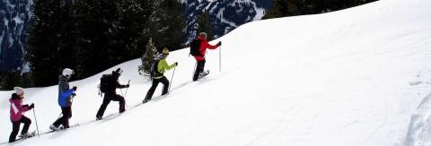 Panorama-Schneeschuhwanderung am Hochzeiger
