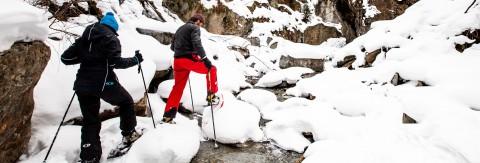 Schnupper-Schneeschuhwandern in St. Leonhard