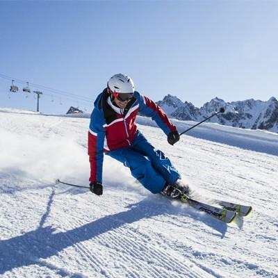 Pistenspaß im Hochzeiger Skigebiet