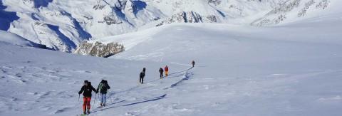 Einsteiger Skitour auf über 3000m