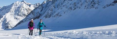 Schnupper Skitour am Pitztaler Gletscher