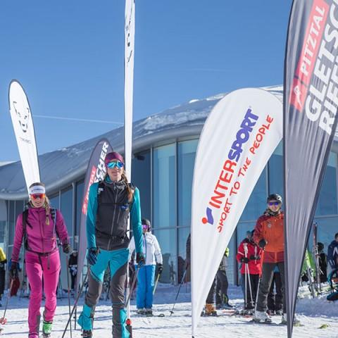 Skitourenpark by Dynafit am Pitztaler Gletscher