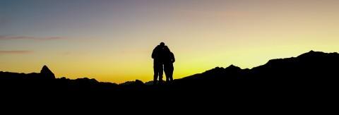 Sonnenaufgangsfahrt zum Sechszeiger