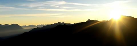 Sunrise trip to Sechszeiger