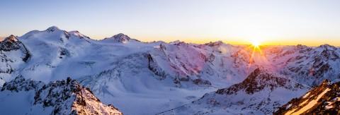 Tirols höchster Sonnenuntergang im Café 3.440