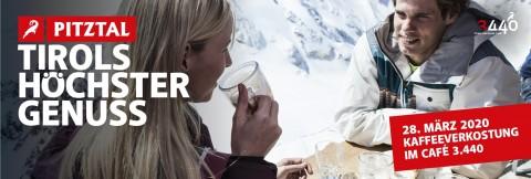 Österreichs höchste Kaffeeverkostung im Café 3440