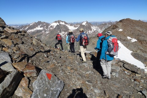 Pitztal Glacier Footpath - Taschach Glacier