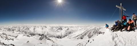 Skitour zur Wildspitze