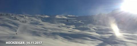 Winternews Hochzeiger Skigebiet