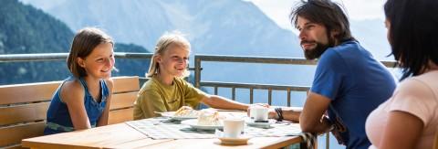 Restaurants, Almen & Hütten am Hochzeiger