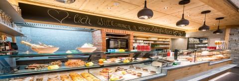 Zirbenbäckerei: Das Frühstückscafe am Hochzeiger