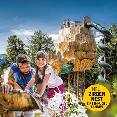 ZirbenPark Hochzeiger mit ZirbenWasser