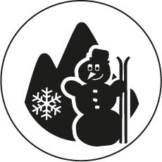 Spielplatz Schnee